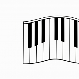 Let's play the piano
