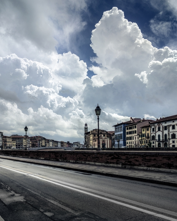 Cloudy Day in Pisa