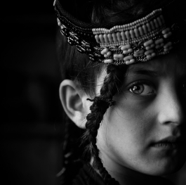 Eyes of Kalash Tribe