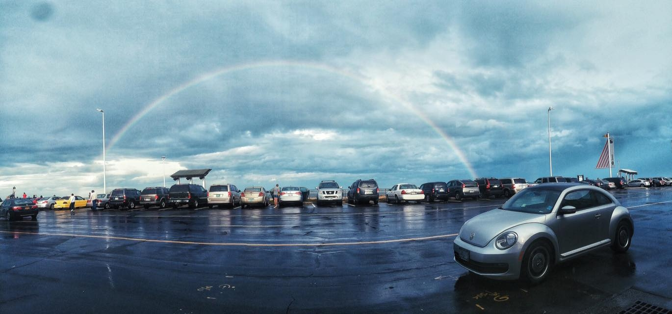Somewhere over the rainbow..