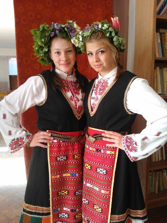 Celebrating Bulgarian traditions /Лазаров ден/
