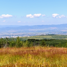 A view to Old mountain from Vitosha